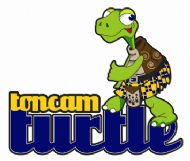 toncam turtle with text